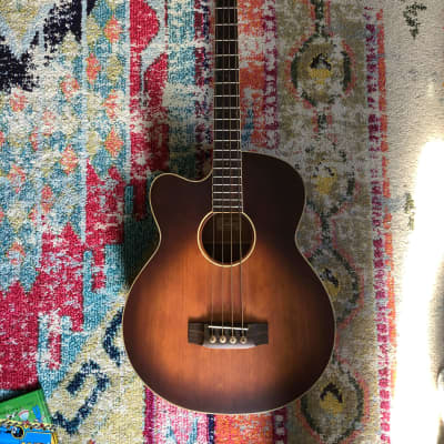 Morgan Monroe Creekside Acoustic-Electric Bass LEFT-HANDED for sale