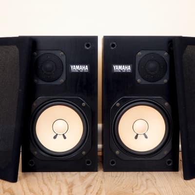 1980s Yamaha NS-10M Studio Monitors Matched Pair