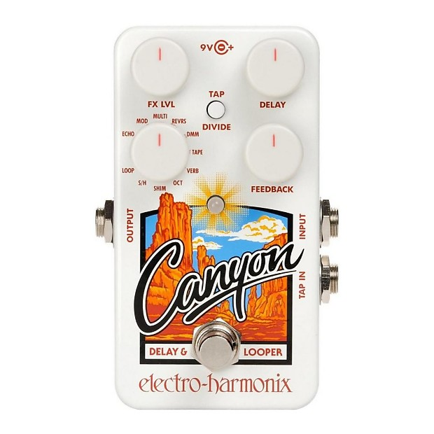 Image result for electro harmonix canyon