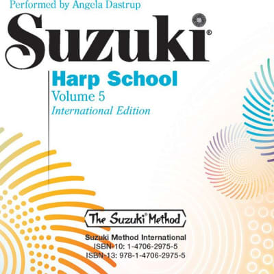 Suzuki Harp School CD, Volume 5: International Edition