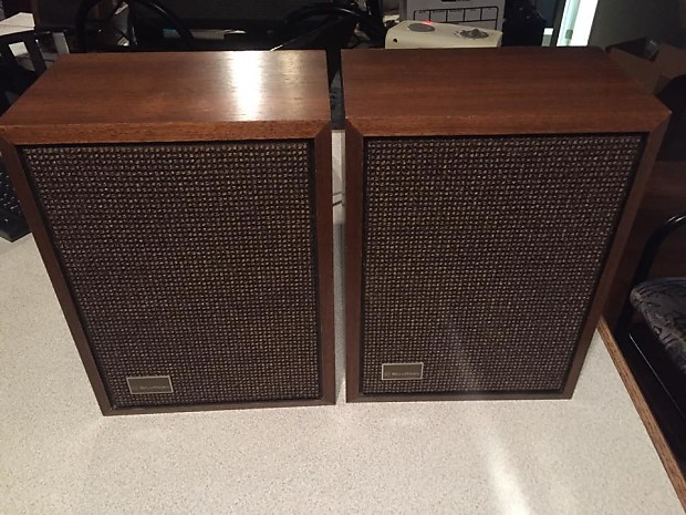 Vintage Bell Howell Bookshelf Speakers
