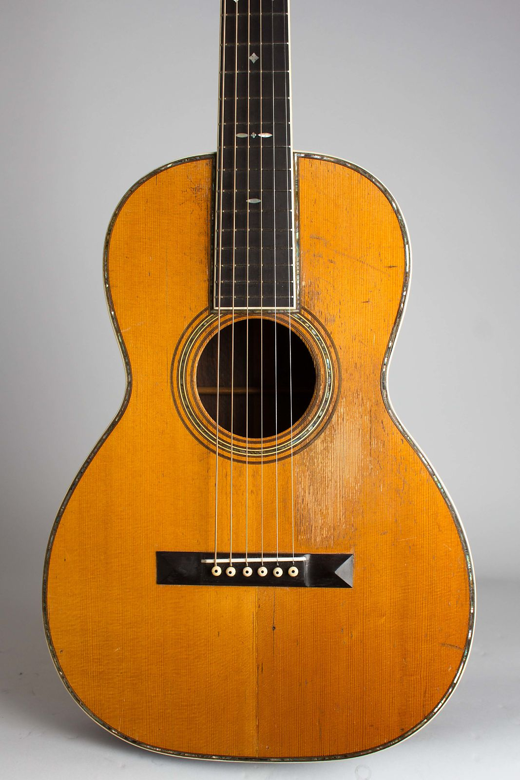 C. F. Martin  0-42 Flat Top Acoustic Guitar (1929), ser. #39862, black hard shell case.