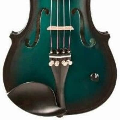 Barcus Berry BAR-AEG Vibrato-AE Series 4-String Acoustic-Electric Violin w/Case, Bow, Strap & Rosin