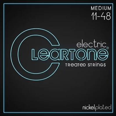 Cleartone .011-.048 MEDIUM 9411 Electric Guitar strings 6 PACKS
