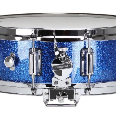 Rogers Dyna-sonic Wood Shell Snare Drum 14x5 Blue Sparkle Lacquer