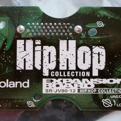 Tested Roland srjv80-12 sr-jv-80 SR-JV80-12 HIP-HOP HipHop Rap Collection Expansion Sound Board ROM