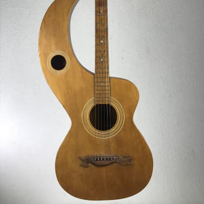 Knutsen Slipper Guitar 1898 Natural for sale
