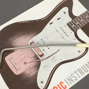 Genuine Fender Mexico Classic Player Jazzmaster Screw In Tremolo Arm & Aged White Tip 0077422000