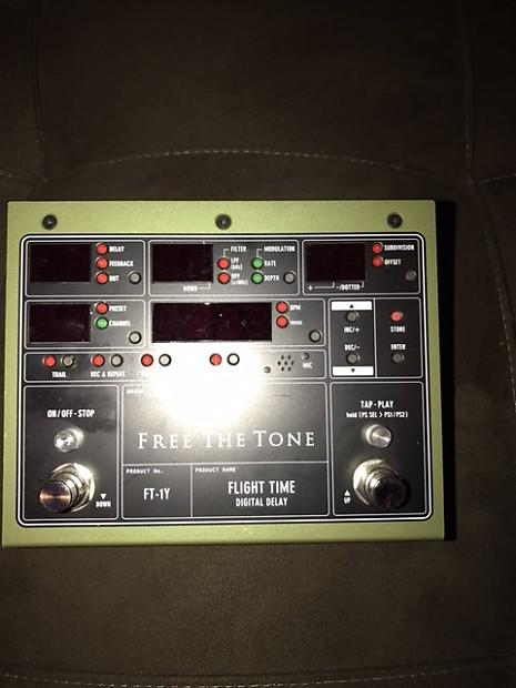 Free The Tone Flight Time Digital Delay FT-1Y | BM Studios