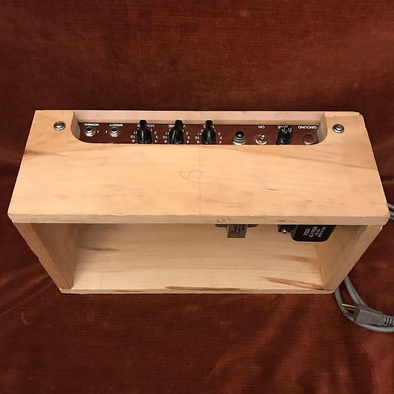 Handmade 5E3 Deluxe Clone 15W Guitar Tube Head Natural Pine