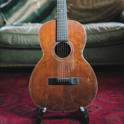 Real pre-war cannon Spruce and Brazilian rosewood 12 fret baritone 1900's Laquer