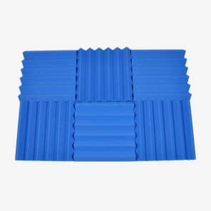 "Seismic Audio SA-FMDM2-6Pack 2x12x12"" Studio Acoustic Foam Sheets (6-Pack)"