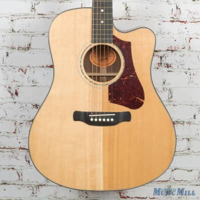 2017 Gibson HP 635 W Square Shoulder Acoustic Electric Guitar Natural USED for sale