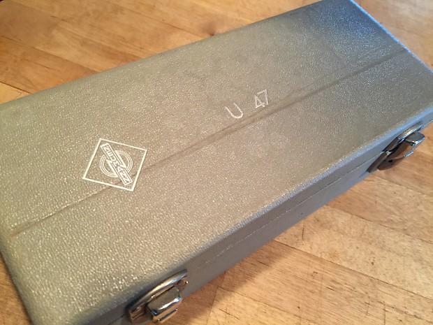 VINTAGE NEUMANN U47 WOOD BOX - COOL! | Gear Mart