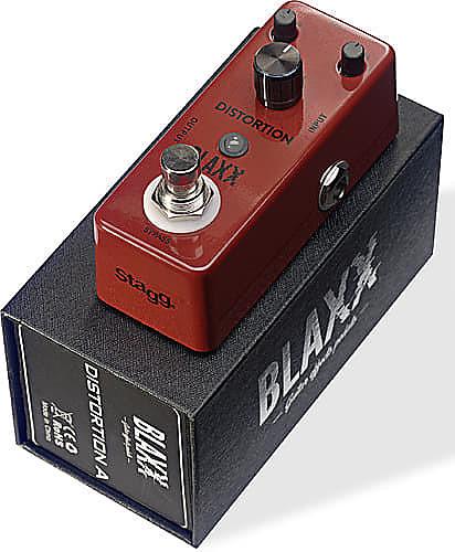 Blaxx Distortion A Pedal Damm Music Reverb