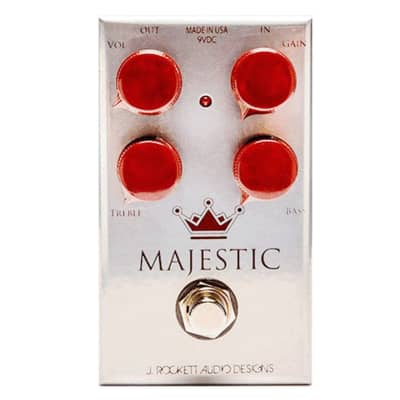 J Rockett Audio Designs Majestic Majestic '70s Style Overdrive Pedal for sale