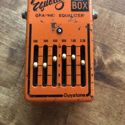 Guyatone PS-105 Graphic Equalizer Box late-70s Orange for sale
