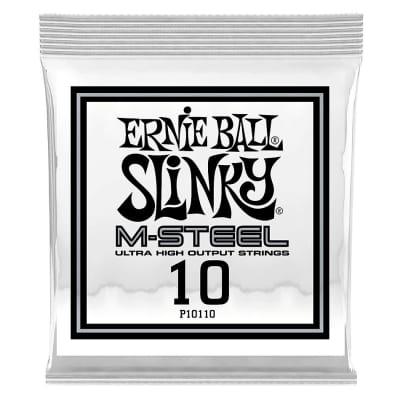 Ernie Ball .010 RPS M-Steel Single Guitar String