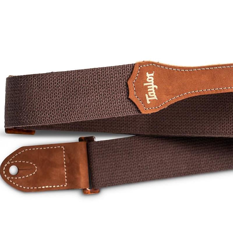 Taylor GS Mini Strap, Chocolate Brown Cotton, 2
