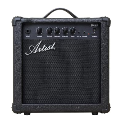 Artist BA15 15W Bass Guitar Amplifier with mp3 Input for sale