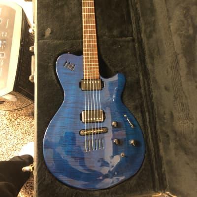 Godin LGX Trans Blue for sale