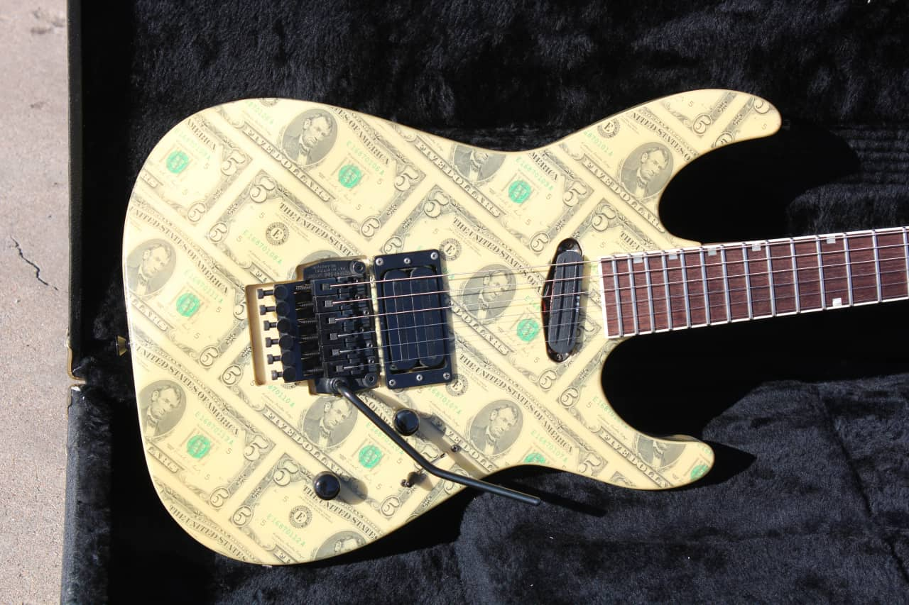 ESP Custom Shop Mirage Deluxe