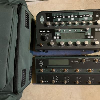 Kemper Amps Profiler Head Guitar Modeling Amp w/ Remote Controller Pedal for sale