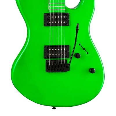 Dean Custom Zone 2 HB Florescent Green Electric Guitar CZONE NG
