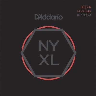 D'Addario NYXL1074 8-String Electric Guitar Strings