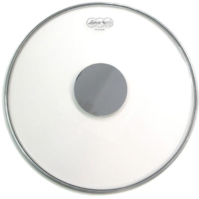 """Ludwig LW6120 Weather Master 20"""" Heavy Silver Dot Batter Bass Drum Head"""