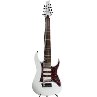 Ibanez TAM10-WH Tosin Abasi Signature Series 8-String Electric Guitar White