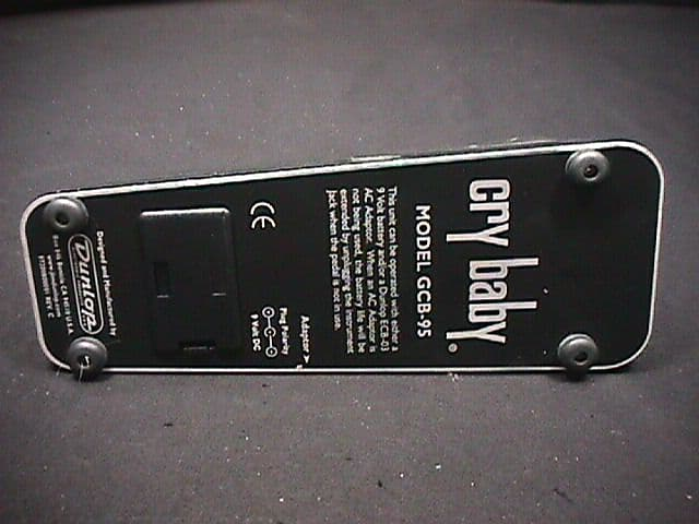 vintage cry baby guitar effects pedal model gcb 95 ready to reverb. Black Bedroom Furniture Sets. Home Design Ideas