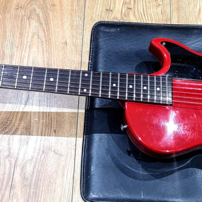 Gibson-Orville Melody Maker Red/Black Made in Japan 1990 Serviced Deep Cleaned and Set Up for sale