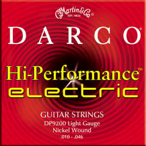 Martin D9200 Darco Electric Guitar Strings - Light (10-46)