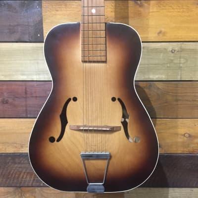 Gallotone Wonder Parlour acoustic 1950`s Sunburst for sale