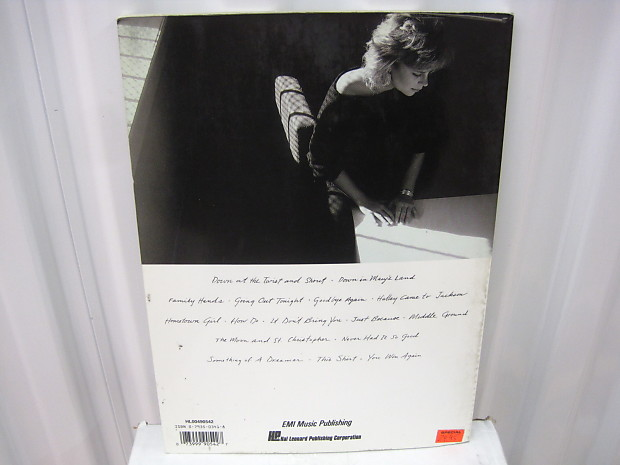 Mary Chapin Carpenter The Songs of Sheet Music Song Book Songbook Piano  Vocal Guitar