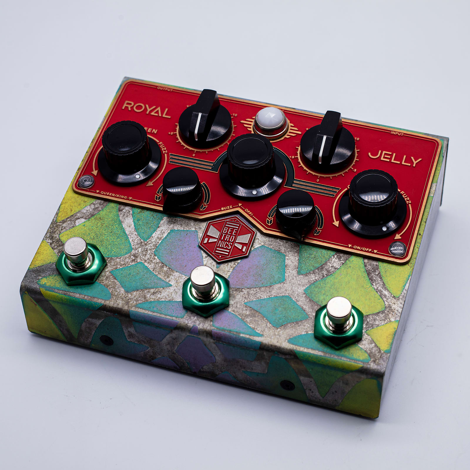 Beetronics Royal Jelly Custom Series - Overdrive/Fuzz Blender, from 2020 NAMM!
