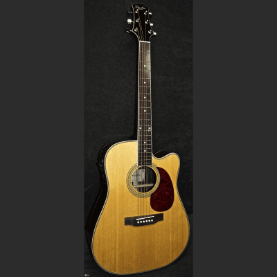 Peerless PD-55CE Acoustic Guitar Blonde NOS #0032 for sale