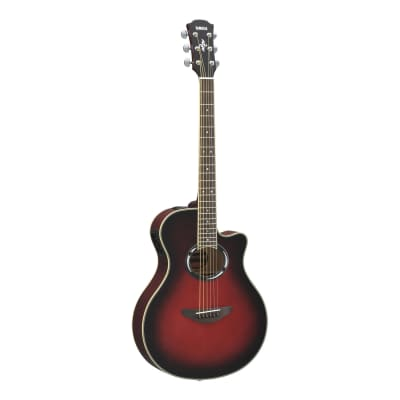 Yamaha APX500III Thinline Acoustic-Electric Guitar Dusk Sun Red