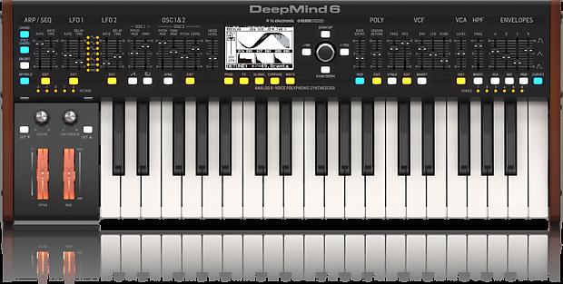 Behringer DEEPMIND 6   True Analog 6-Voice Polyphonic   Reverb
