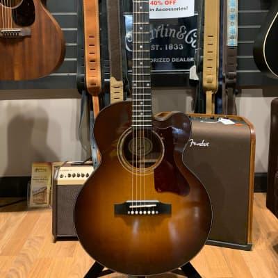 2018 Gibson Parlor Rosewood (Avant Garde) in Walnut Burst w/ HSC