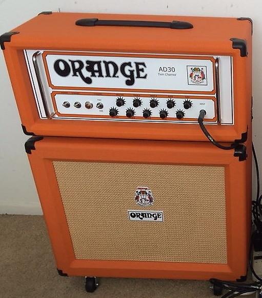 Orange Ad30 Tc 1x12 Orange Closed Back Cabinet Reverb