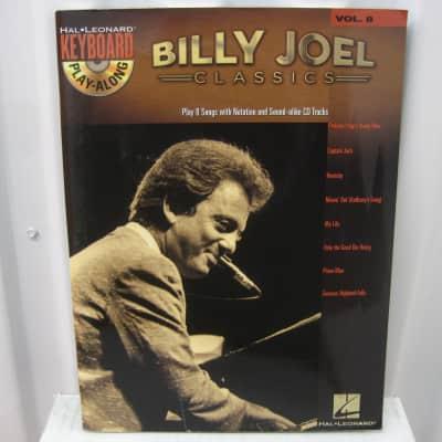 Billy Joel  Classics Keyboard Play Along Vol 6 with CD Sheet Music Song Book Piano Songbook