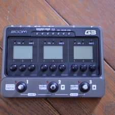 Zoom G3 Multi-Effects (WITH BOX/MANUAL)