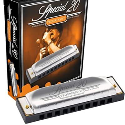 Hohner 560PBX-A Progressive Series 560 Special 20 Harmonica - Key of A