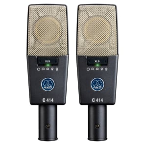 AKG C414 XLS/ST Matched Stereo Pair