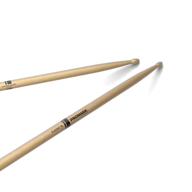 Stagg American Hickory Electric Jazz Wood Tip Drum Sticks SHELJ