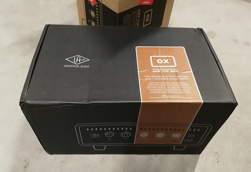 UNIVERSAL AUDIO OX Amp Top Box - Reactive Load Box - B-STOCK