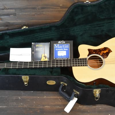 Martin BCPA4 Acoustic Electric Bass guitar 4 USA Made 2013 OHSC Fishman VIDEO DEMO