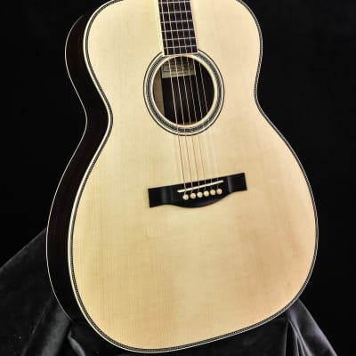 Santa Cruz OM Grand Custom  Adirondack Spruce/ Indian Rosewood Adirondack Top Hide Glue for sale